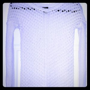 Rue21 | White Large Knit Sweater